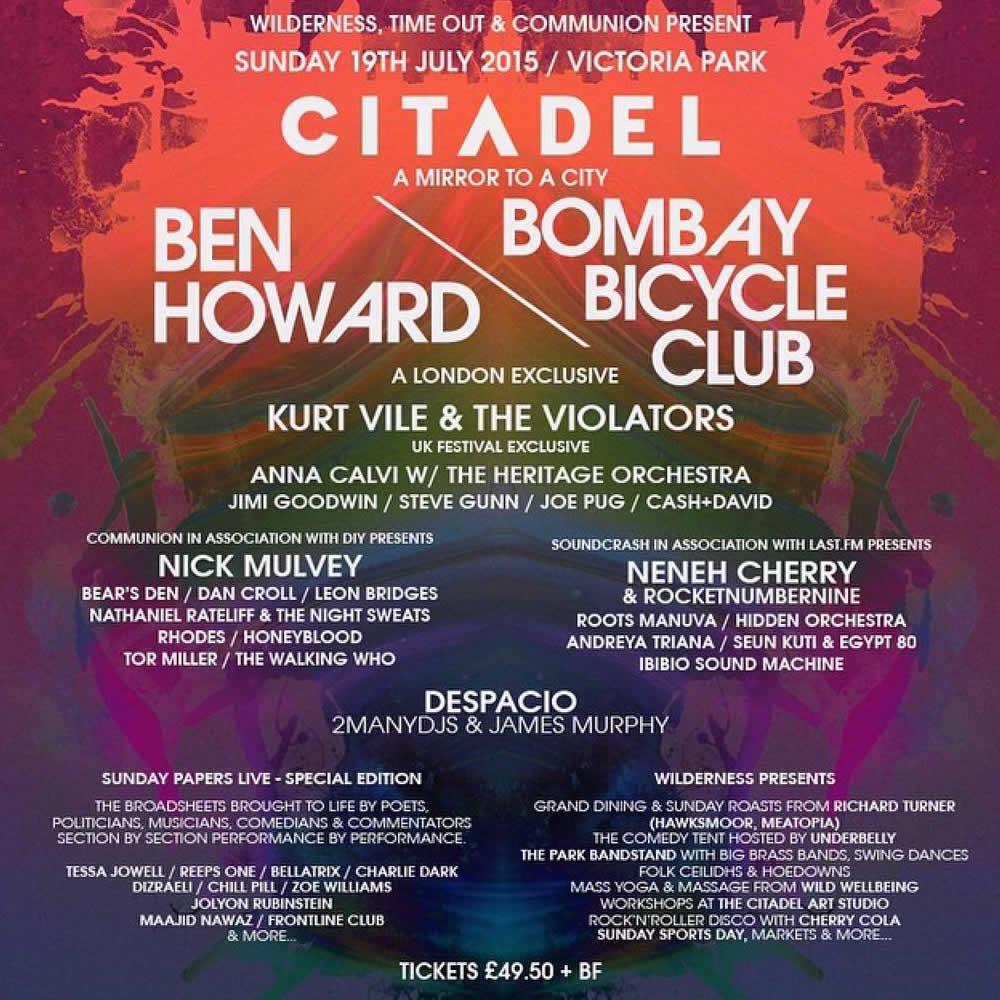 Ben Howard unveils Citadel Festival plans