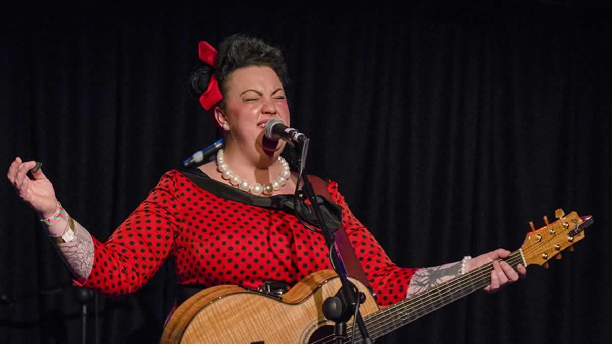 Kaz Hawkins – Hallelujah, Get Happy – Live in The Limelight 2, Belfast