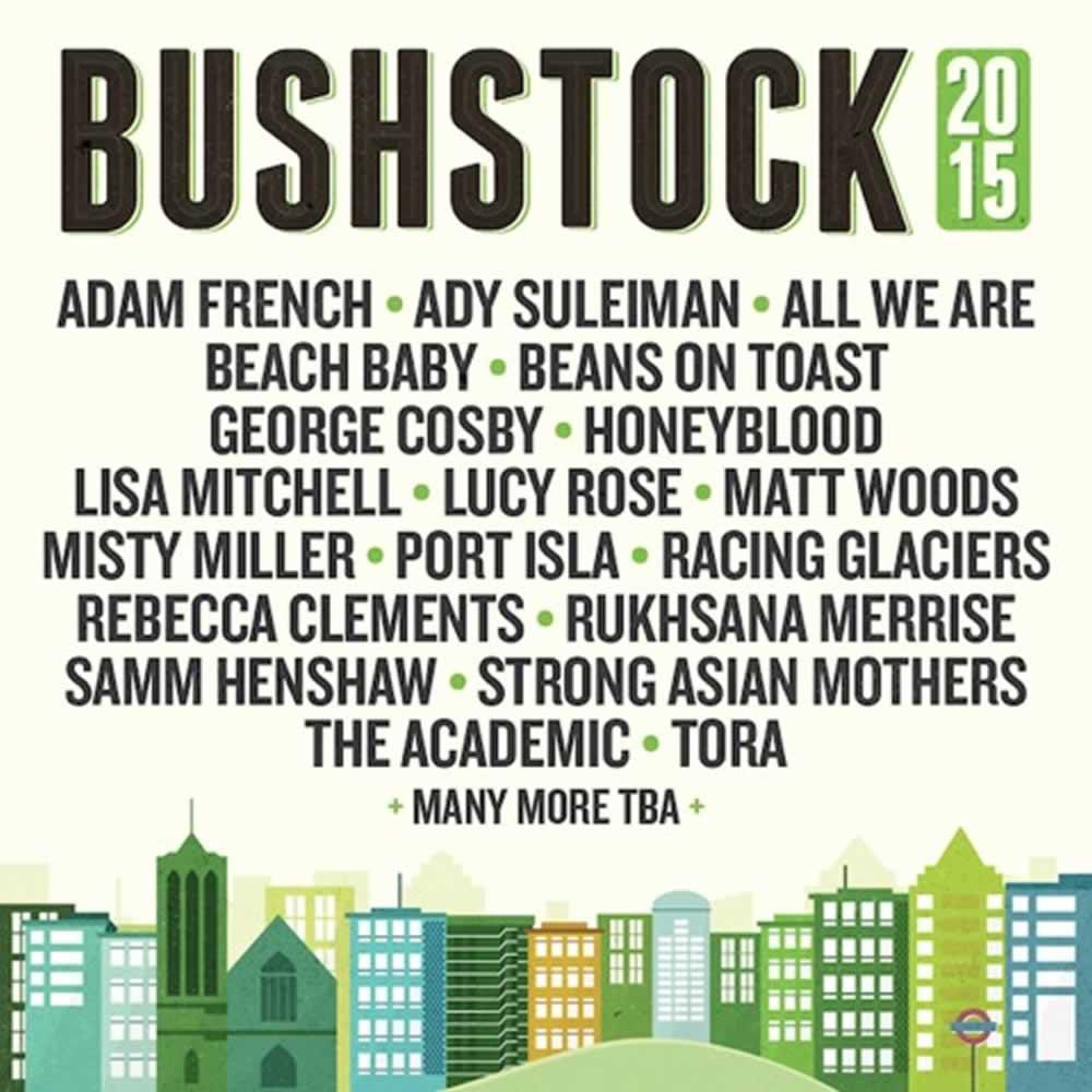 Bushstock 2015 Lineup