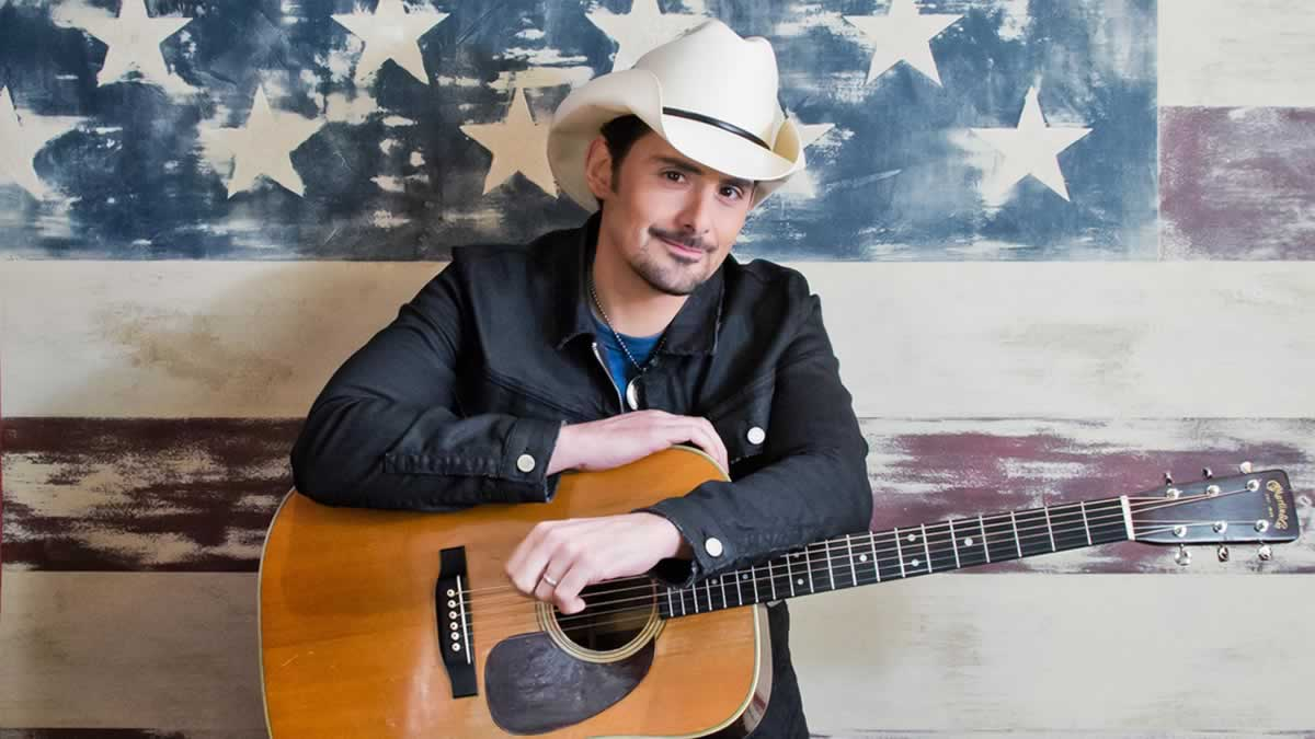 Brad Paisley announces Irish date as part of upcoming world tour