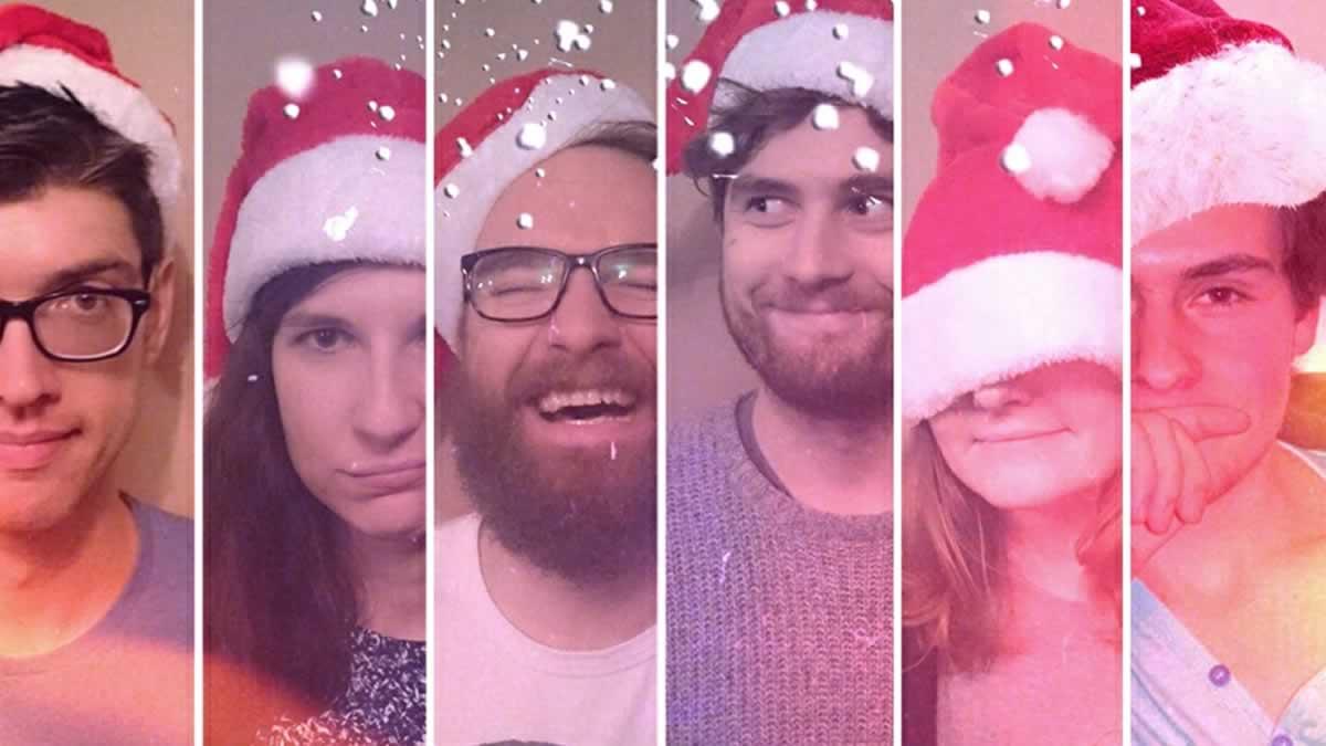 Joe Innes and the Cavalcade – Santa Says Relax