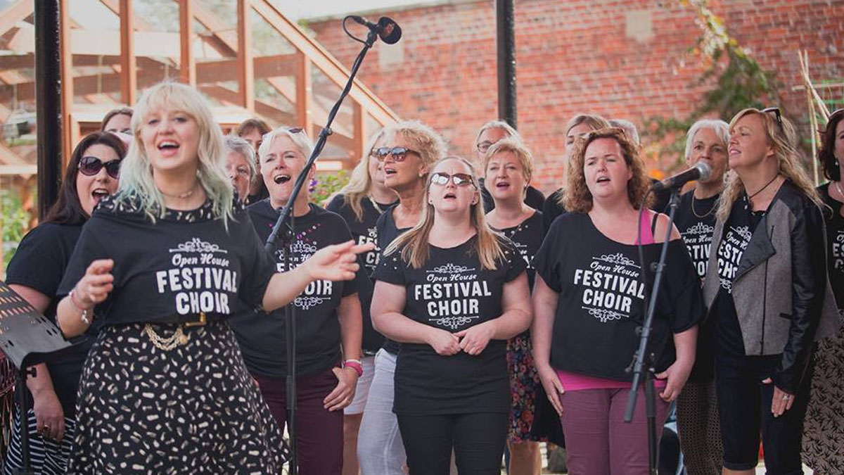 Limited tickets for Gill Landry and the festival choir