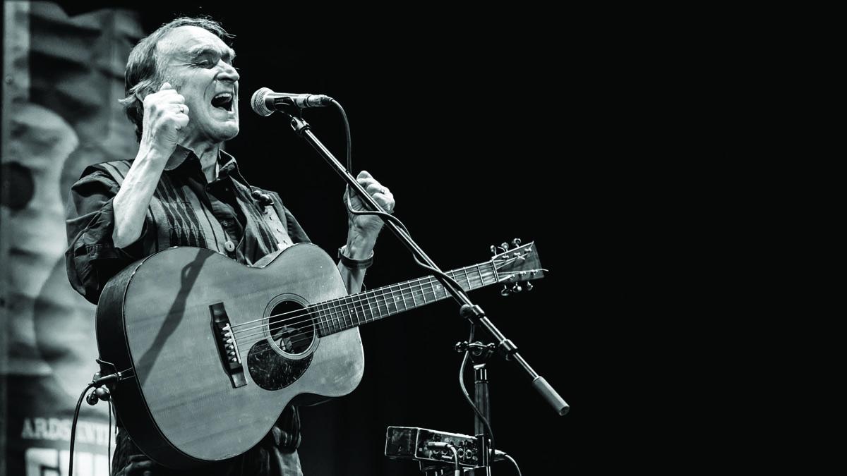 Martin Carthy at Ards International Guitar Festival